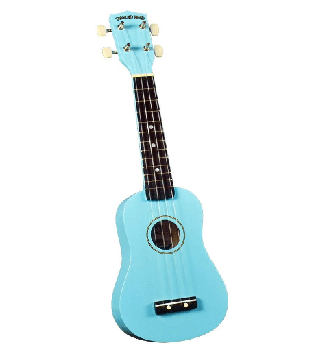 Diamond Head DU 106 Rainbow Soprano Ukulele-Light Blue
