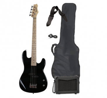 Full Size Electric Bass Guitar Starter Beginner Pack